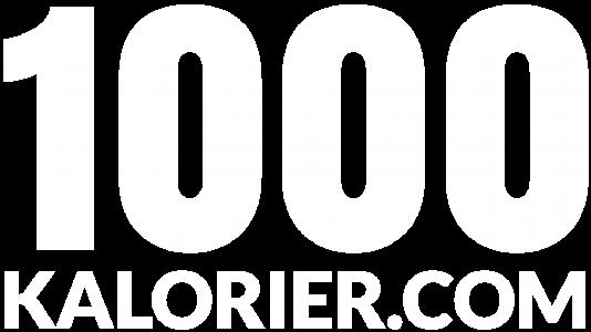 1000 kalorier om dagen